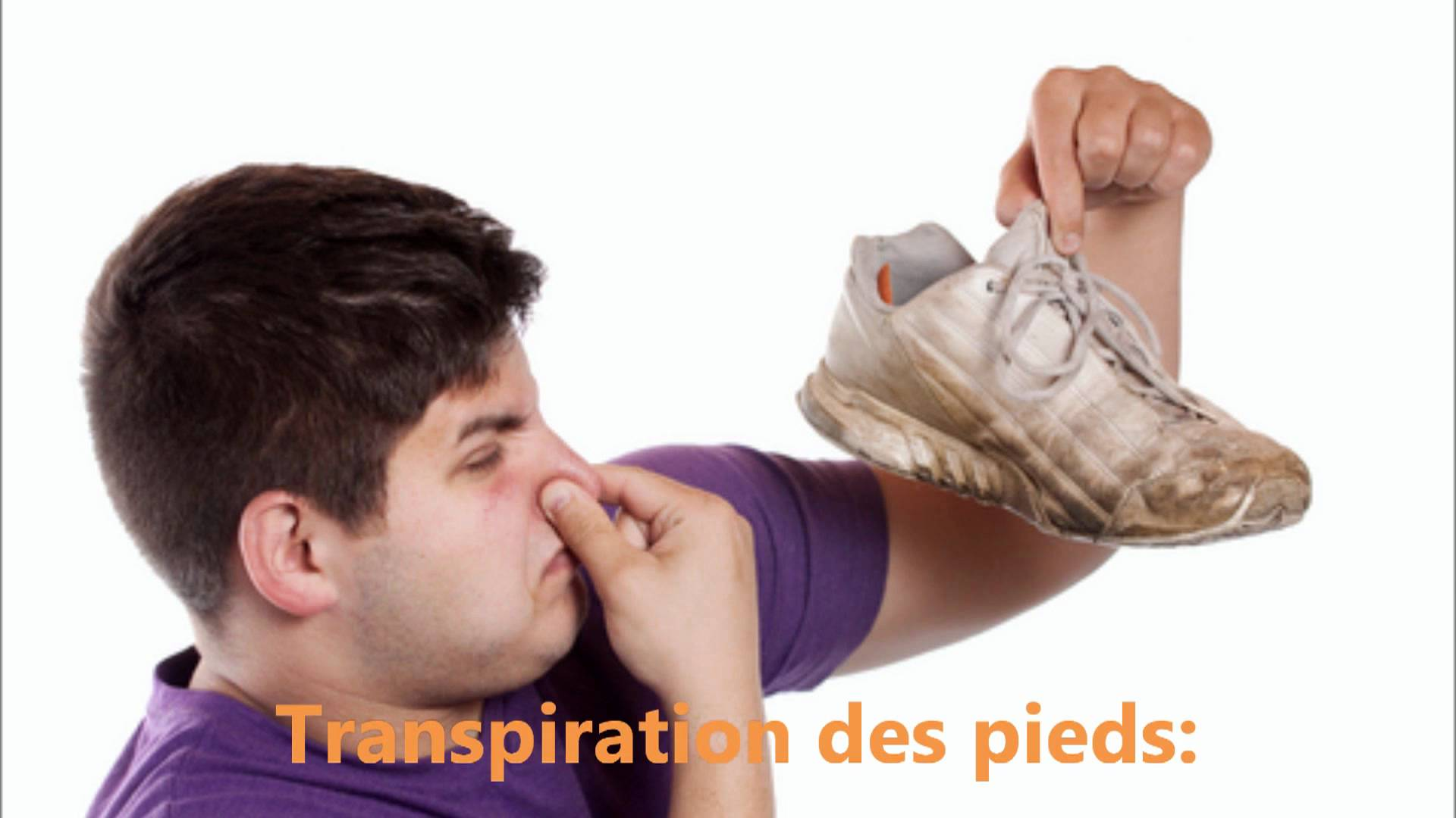 Transpiration des pieds (hyperhidrose)